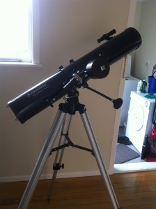 My new telescope