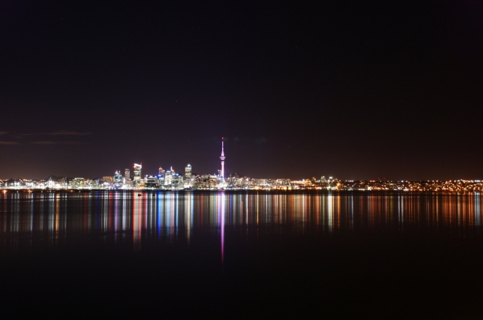 Auckland reflection at night | Photo by 111 Emergency on Flickr CC BY 2.0