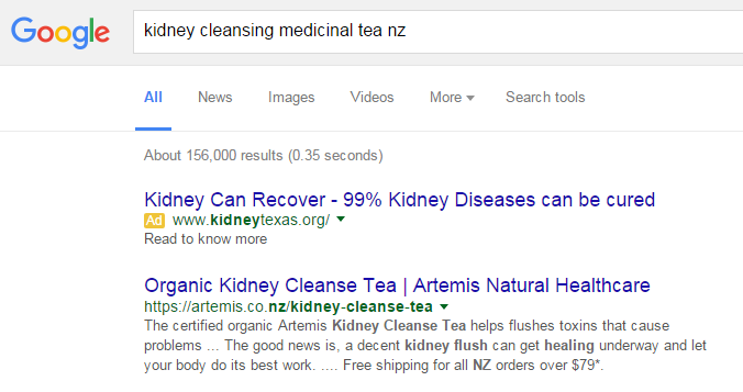 Google Kidney Cleanse Tea