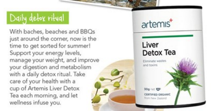 Health 2000 Artemis Liver Detox Tea